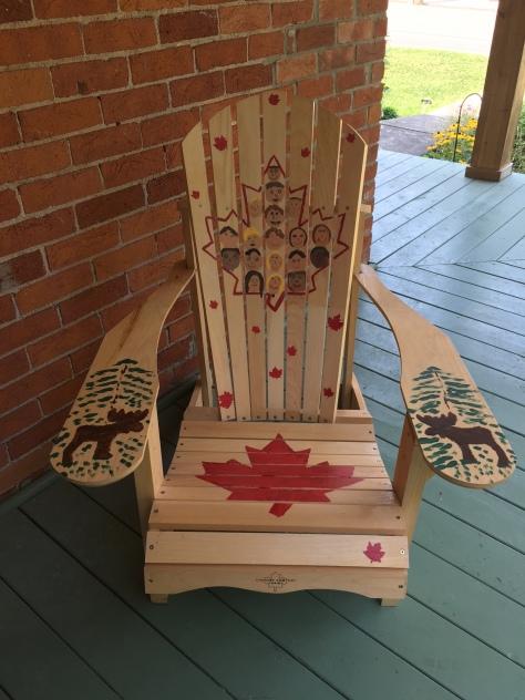 Gr 2:3 Art on the Street Chair