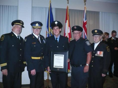 OPP Honours and Awards - Matt Younge