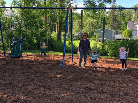 First children and grand on swings June14-19.jpg