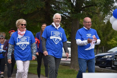 Mayors on the Superwalk