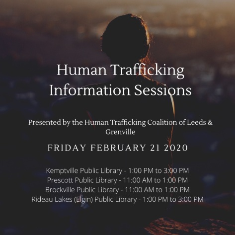 Human Trafficking launch