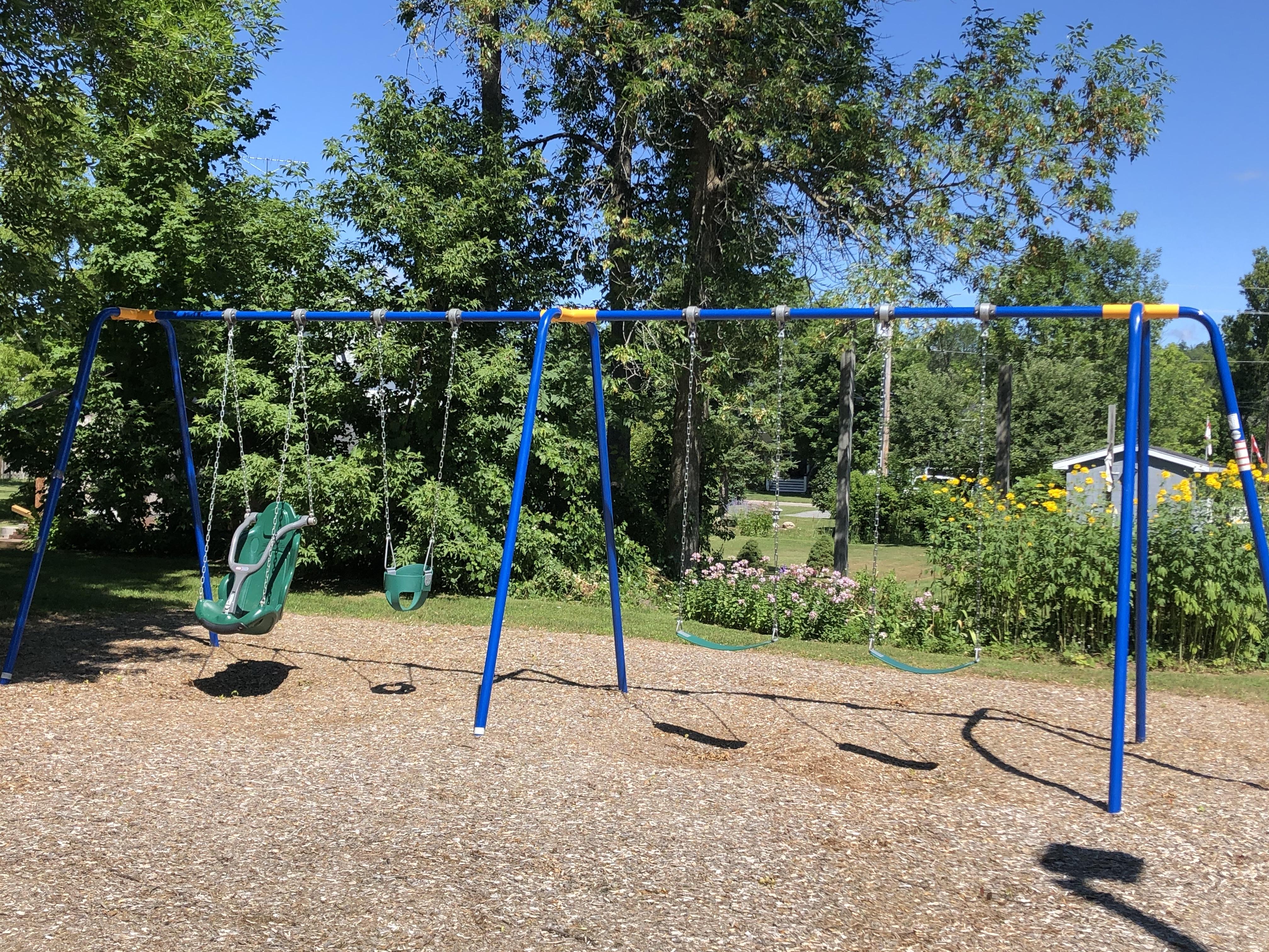 swings reopen